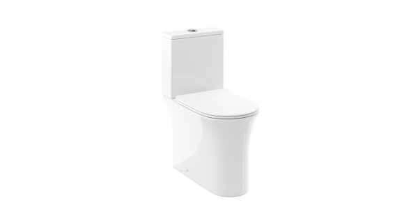 Calla CH Fully BTW Toilet Pan, Cistern & Soft Close Seat