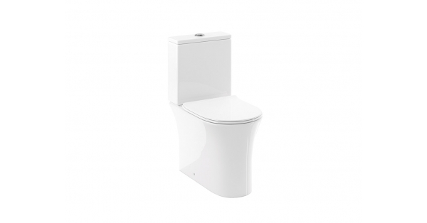 Calla Fully BTW Toilet Pan, Cistern & Soft Close Seat