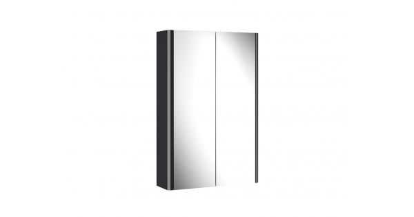 Casi 500mm 2 Door Mirror Cabinet Anthracite
