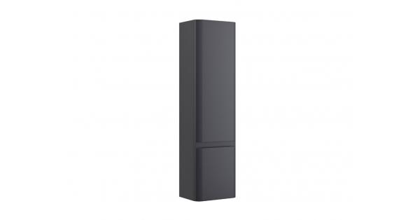 Casi 2 Door Wall Hung Storage Unit Grey – RH Hinge