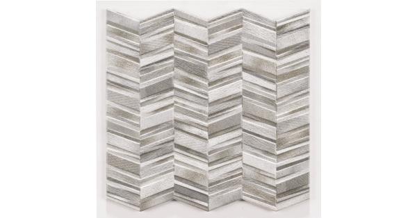 Chervron Grey 44 x 44