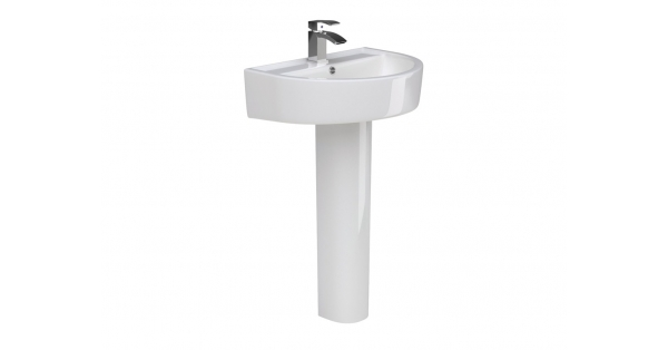 Kai 600mm Basin & Pedestal