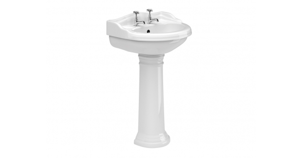 Kent 600mm Basin & Pedestal