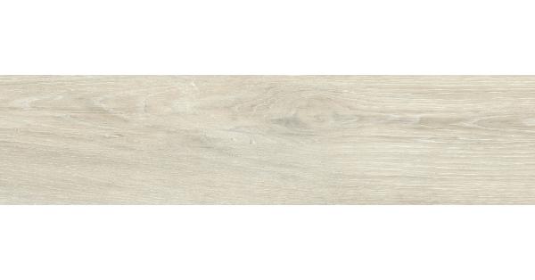 Krista White Wood Effect Floor Tile 14.6 x 59.3