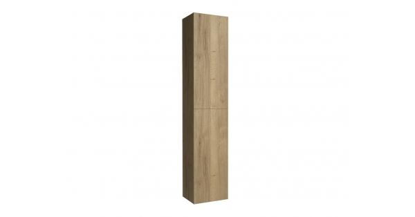 2 Door Tall Boy Oak