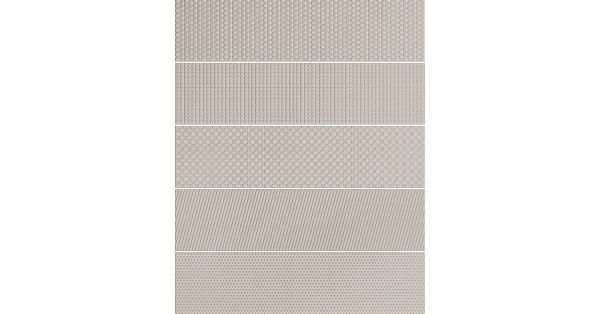 Monocroma Unik Mix Light Grey 7.5 x 30
