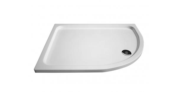 Slimline Offset Quadrant Shower Trays
