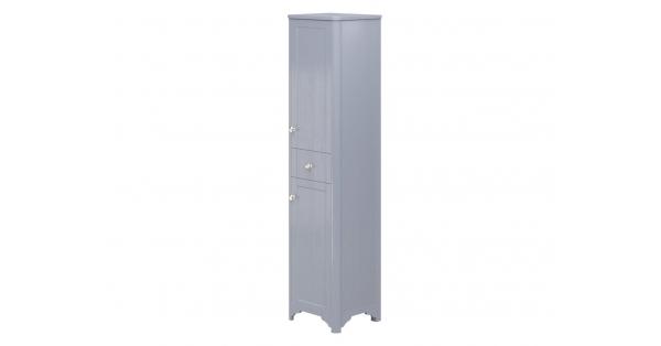 Oxford 2 Door, 1 Drawer Tall Boy Denim Ash