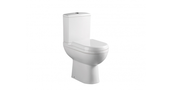 Refine Fully BTW Toilet Pan, Cistern & Soft Close Seat