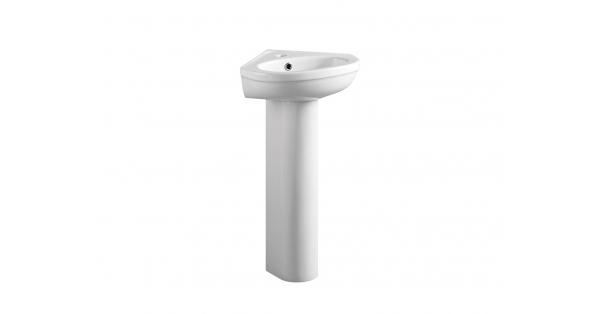 Refine Corner Basin & Pedestal