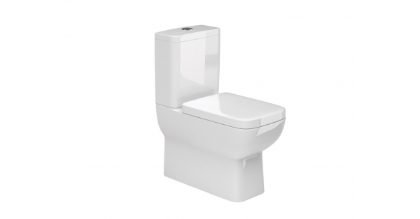 Rio Fully BTW Toilet Pan, Cistern & Soft Close Seat