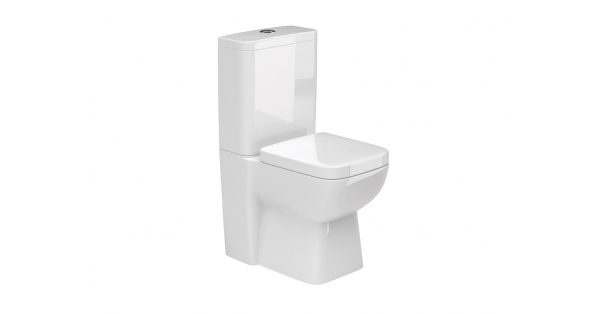 Rio SP Fully BTW Toilet Pan, Cistern & Soft Close Seat