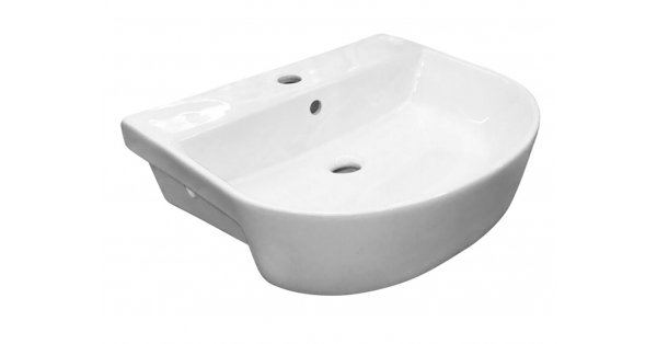 RT 560mm Semi Recessed Basin