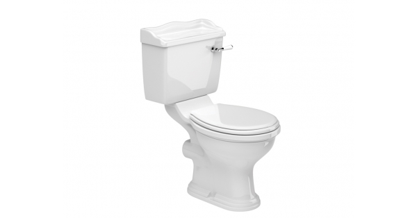 Kent OB Toilet Pan, Cistern & Soft Close Seat