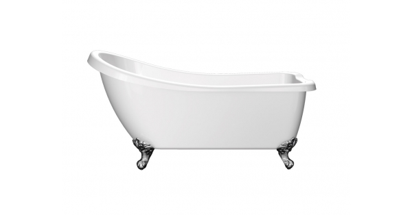 Traditional Slipper – Freestanding Acrylic Bath