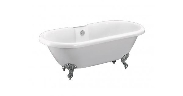 TRADITIONAL DUAL – FREESTANDING ACRYLIC BATH