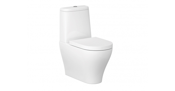 Urban Harmony Clean On Fully BTW Toilet Pan, Cistern & Soft Close Seat