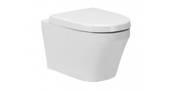 Kai Wall Hung Toilet Pan & Soft Close Seat