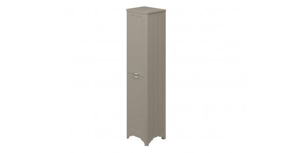 Westminster 2 Door Floor Standing Tall Boy Grey – RH Hinge